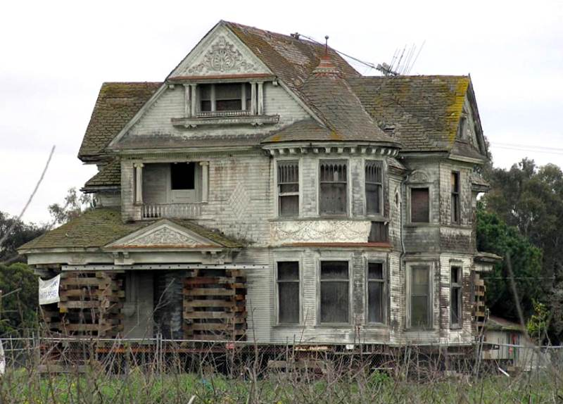 Abandoned Mansions In California Images