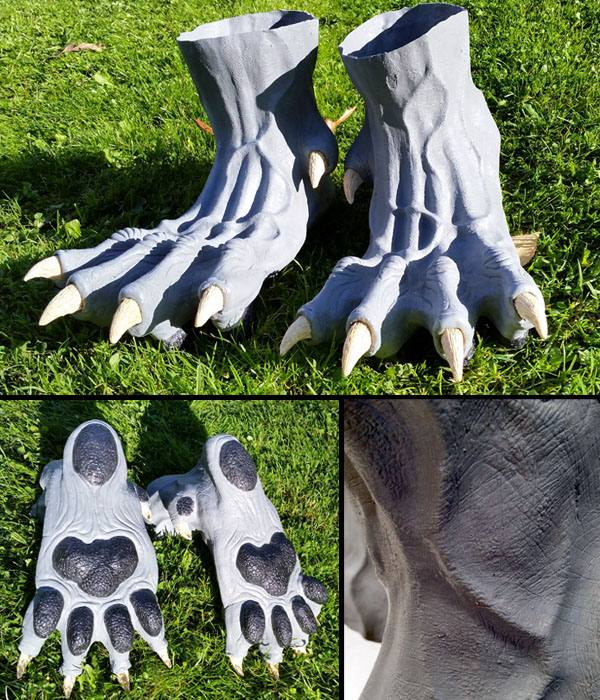 brown beast handpaws